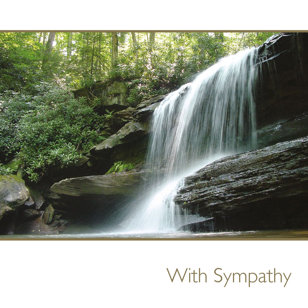 With Sympathy / waterfall