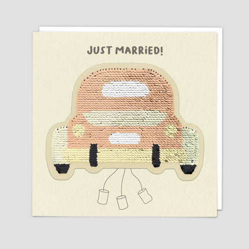 Just Married Wedding