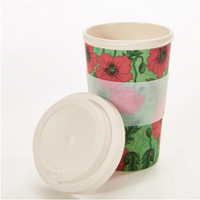 Load image into Gallery viewer, Bamboo Cup Poppies
