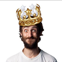 Load image into Gallery viewer, King for a Day Inflatable Crown