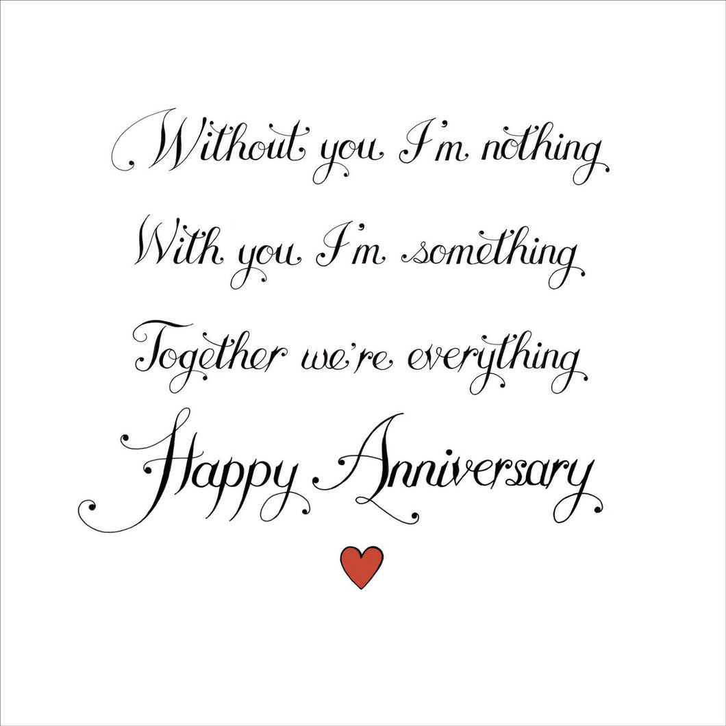 Together We're Everything Anniversary