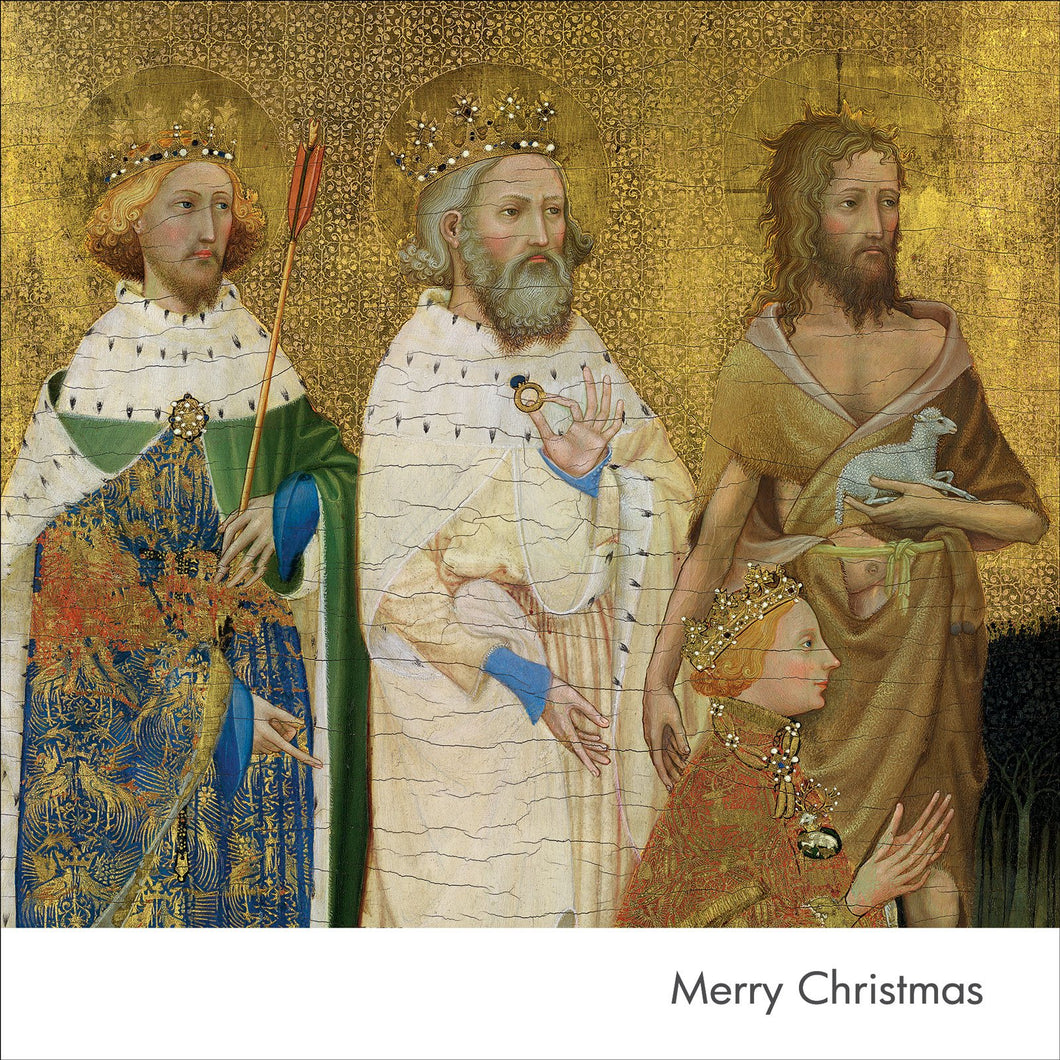 The Wilton Diptych Kings