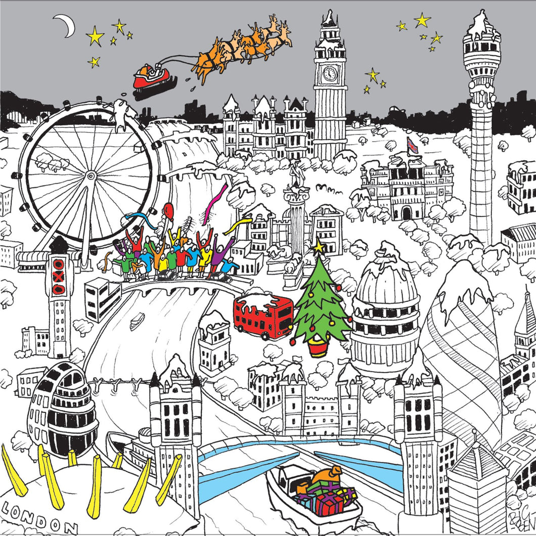 Christmas in London Town