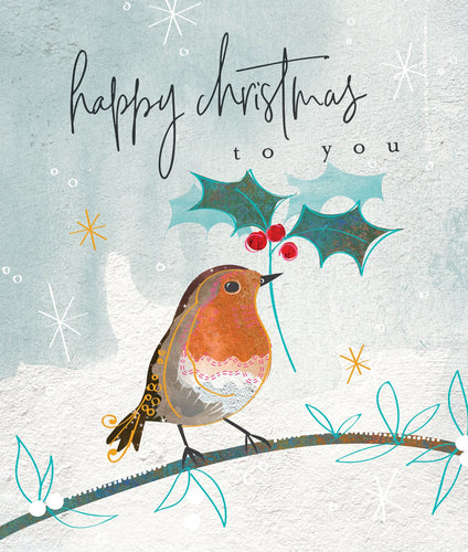Happy Christmas Robin