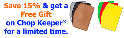 save 15% on chop keeper