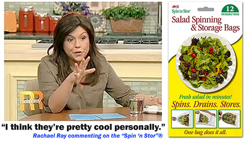 spin'n stor on rachel ray