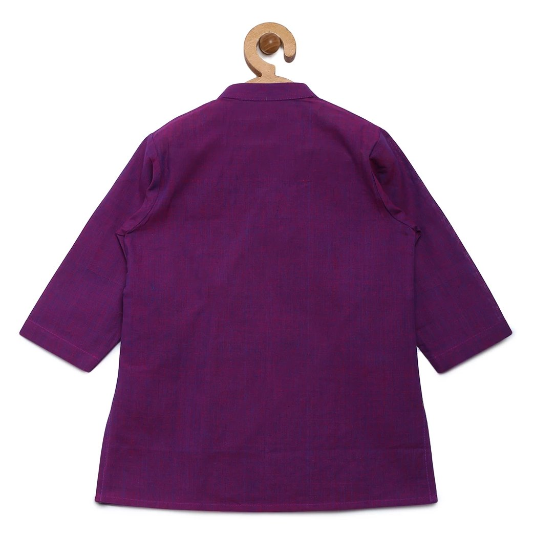 Baby Boy Purple Cow Kurta set
