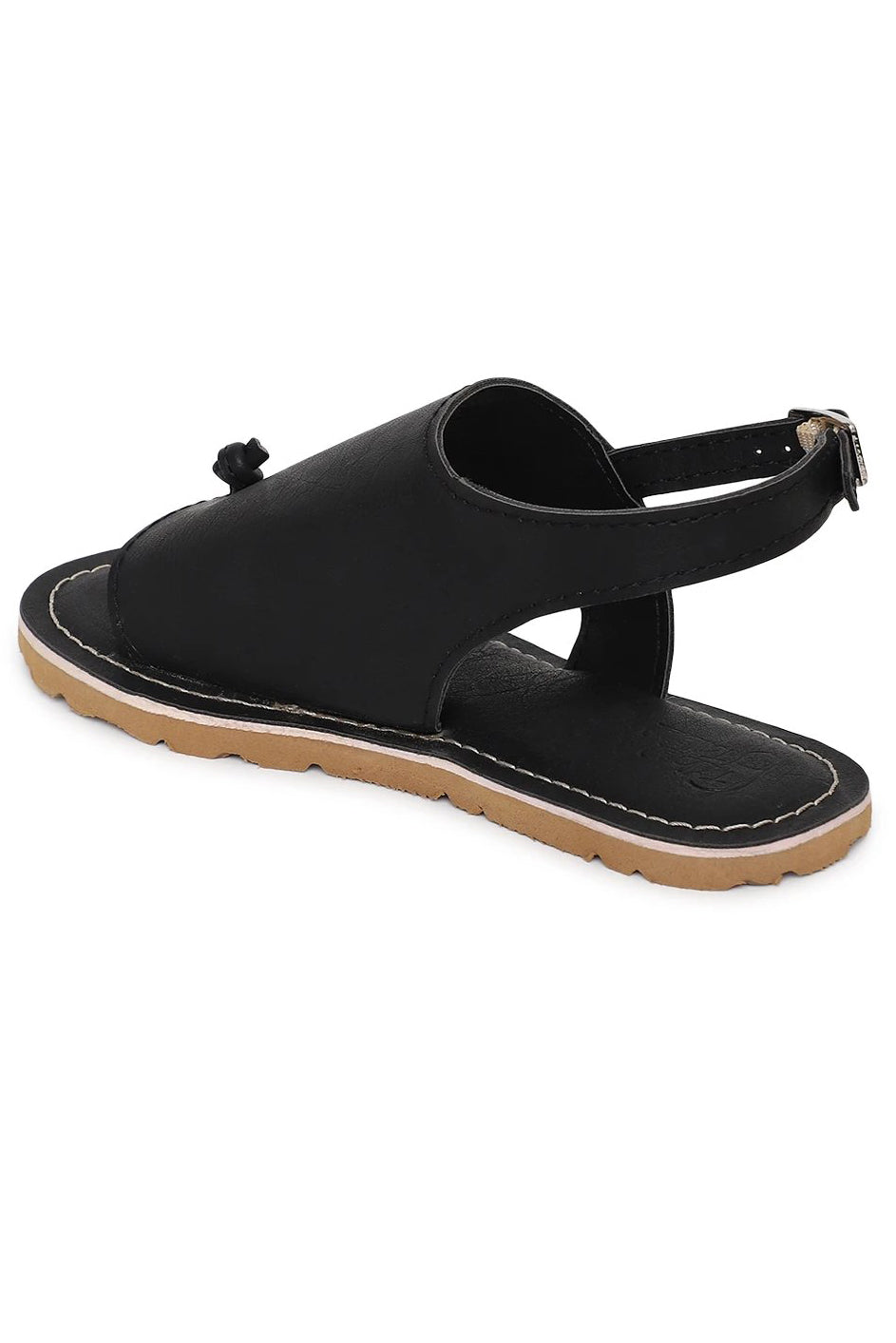 Boy Black Urban Sandal