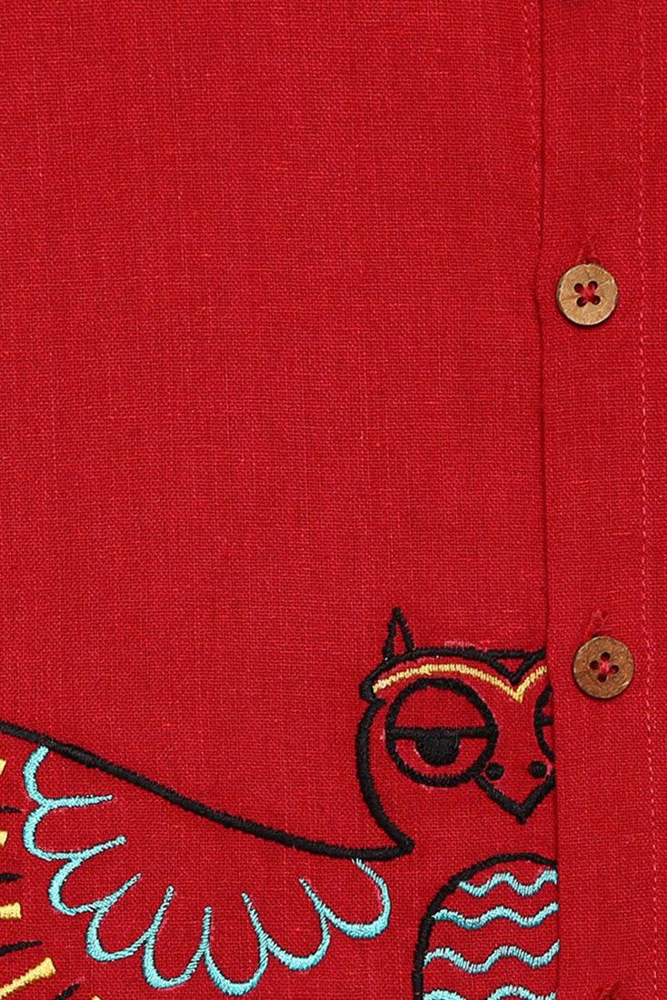 Boy Red Owl Shirt