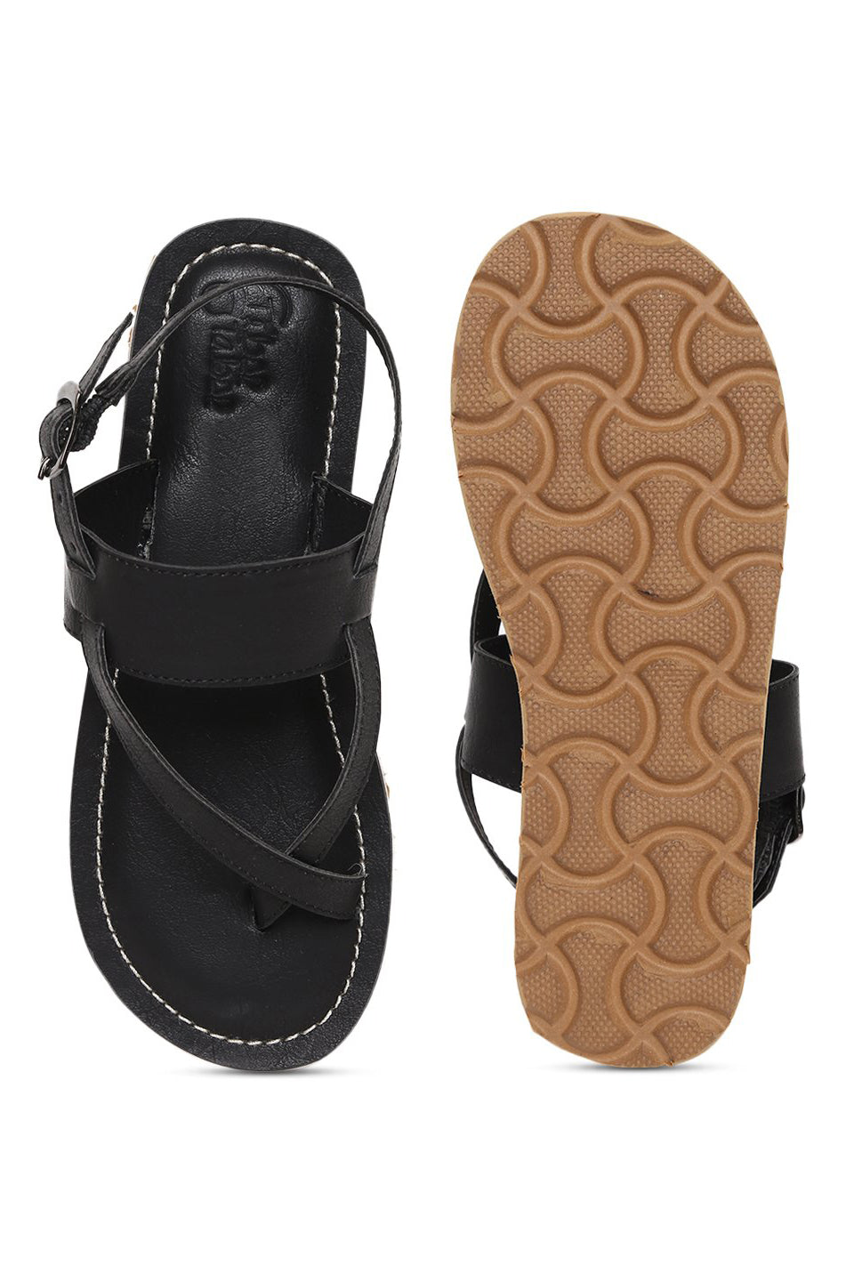 Boys Black Nawab Sandal