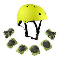Warm House Kids Toddler Protective Gear and Helmet Sets3 to 8 Years Old Kids Helmet and Pads SetKnee PadsWrist Pads and Elbow Pads for Skateboarding Skating Scooter Cycling LDE-B07L8DWPQ7