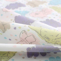 Vonty 3pcs Bunny Sheets Kids Twin Sheets Set Soft Cozy Brushed Microfiber Sheets for Boys and Girls 1 Fitted Sheet + 1 Flat Sheet + 1 Pillowcase Ghg-B07GXBGXFM