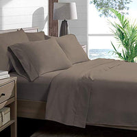 Bare Home Twin XL Sheet Set College Dorm Size Premium 1800 UltraSoft Microfiber Sheets Twin Extra Long Double Brushed Hypoallergenic Wrinkle Resistant Twin XL Taupe JTt-B077F2P39F