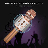 Dreamingbox Bluetooth Wireless Karaoke Microphone Best Gifts