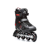 5th Element Stealth Mens Performance Fitness Inline Skates Black and Red ARS-B01JKIWIN4