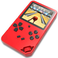 Douddy 16 Bit Handheld Game Console for Kids Adults Built in 220 HD Classic Electronic Games 30 Inches Screen USB Rechargeable Seniors Arcade Entertain Player Red cuP-B07VS7LNTW