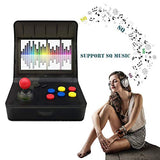 MJKJ Retro Game Console Handheld Game Console 43 Inch 3000 Classic Game Player TV Output Portable Video Game Console with 2PCS Joystick Transparent Black rM1-B07RJFVTLJ