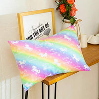 Nidoul Toddler Pillowcases 2 Pack Unicorn Rainbow Kid Pillow Cases 14x19for 13x18 12x16 Pillow Ultra Soft Velvet Bedding Pillow Case Cover for Home Travelling zUn-B07MZJW99Y