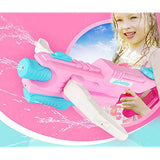 Muzboo Super Water Blaster 1000cc35oz for Girls Adults Swimming Pool Beach Sand Water Fighting Toy High Pressure Soaker with Long Range and Large Capacity