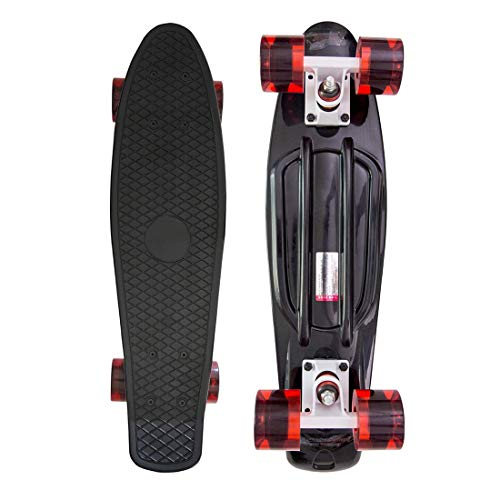 CONGPO Complete Skateboards 31 inch Skateboard for KidsBoysGirlsYouthAdults Stylish Skate Board for Beginners Pro 7Layer Canadian Maple concave Skateboard  Fql-B07VG9BFJS
