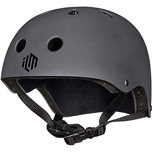 ILM Skateboard Helmet CPSC Certified Impact Resistance Ventilation for Cycling Skateboarding Scooter Outdoor Sports