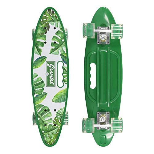 JIKE SLIDE 31 inch Complete Skateboards Skateboard for KidsBoysGirlsYouthAdults Tricks Skate Board for Beginners Pro Double Kick 7 Layer Maple Wood Standard Skateboard CS4-B07W472JK3