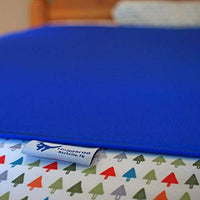 Huggaroo Pouch Sensory Compression Bed Sheet Twin Size Royal Blue xnf-B079Y53D1T