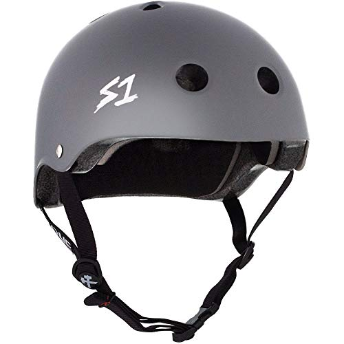 SONE Lifer CPSC MultiImpact Helmet Dark Grey Matte Large 22 AIK-B07BV1L7ZR