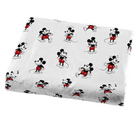 Jay Franco Disney Mickey Mouse 90th Stripe Twin Sheet Set 3 Piece Set Super Soft and Cozy Kids Bedding Fade Resistant Microfiber Sheets Official Disney Product 8R4-B07T8QJ4C3
