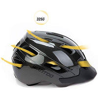 Wantdo Specialized Bike Helmet Safety Bicycle Helmet with Removable Visor Adjustable and MultiSports Helmet with Air Vents for Men and WomenYouth for Road Mountain Skateboard BMX
