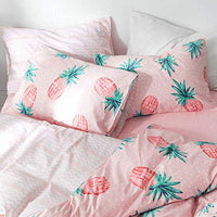HIGHBUY 100 Percent Cotton Pineapple Print Pillowcases Set 2pcs 20Inches by 26Inches for Boys Girls Kids Queen Decorative Pillow CoverSet of 2StandardEnvelope Closure Standard Pillowcase MPU-B07GBVSQ1V