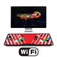 HAAMIIQII 3D Pandora Games Arcade Game Console 2448 Games Installed WiFi Function Support 3D Games SearchSaveHideDeleteAdd Games 1280x720 Full HD Favorite List 4 Players Online Game DVh-B07NYZ9WW7