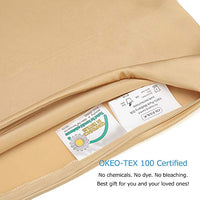 OLESILK 100 Mulbery Silk Pillowcase 2 Pack with Hidden Zipper for Hair and Skin BeautyBoth Sides 19mm Charmeuse Gold Standard r8s-B075FMS88J