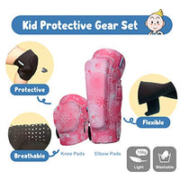 Innovative Soft Kids Knee and Elbow Pads with Bike Gloves | Toddler Protective Gear Set wMesh Bag Sticker | CSPC Certified Comfort | RollerSkating Skateboard Knee Pads for Kids Child Boys Girls BQm-B07R6SWGY8