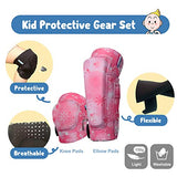 Innovative Soft Kids Knee and Elbow Pads with Bike Gloves | Toddler Protective Gear Set wMesh Bag Sticker | CSPC Certified Comfort | RollerSkating Skateboard Knee Pads for Kids Child Boys Girls 0gf-B07R5V78JX