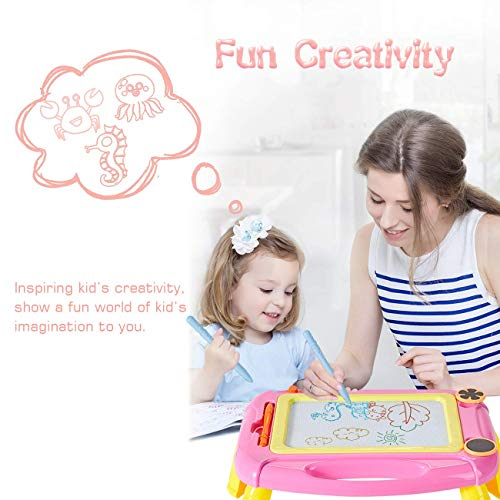 Pink GIFT4KIDS Toys for 1-4 Year Old Girls Gifts,Magnetic Drawing Board for Kids Birthday Gifts for 1 2 3 4 Year Old Girls Gifts Age 2 3,Doodle Board Drawing Pad for Toddler Girls Toys Age 1 2 3 4