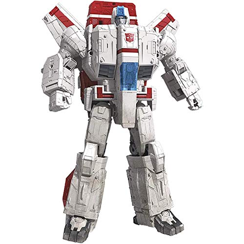 Transformers Toys Generations War for Cybertron Commander WfcS28 Jetfire Action Figure Siege Chapter Adults Kids Ages 8 Up 11 Y2n-B07JLY4YH4