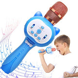 CHOYUE Wireless Karaoke Machine for KidsBest Toy Gift for 312 Year Old Girls BoysBlue 74L-B07WZX5NLY