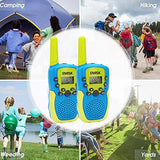 EMISK Toys for 312 Years Boys Girls Walkie Talkies for Kids 22 Channels 2 Way Radios with Flashlight Teen Boy Girl Birthday Gifts Kids Walkie Talkies for Outdoor Adventures Camping 2 Pack H2s-B07TYYTKHD