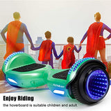 FLYINGANT Hoverboard Self Balancing Scooters 65 Flash TwoWheel Self Balancing Hoverboard with Bluetooth Speaker and LED Lights for Kids and Adults Gift dxI-B07YS5HNV7