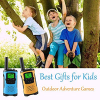 WES TAYIN Upgraded Walkie Talkies for Kids Kids Two Way Radios Toys with 22 Channels Kids Walkie Talkies with VOX Hands Free and LED Flashlight Best Birthday Holiday Toys for Kids 7eW-B07LBSM678