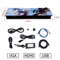 Pandora Treasure II Arcade Game Console 2650 Games Installed SearchSaveHideDelete Games Support 3D Games Add More Games 1920x1080 Full HD 4 Players Online Game 2 Player Game Controls QLz-B07PG8QQP5