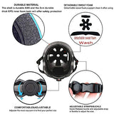 GLHEL Skateboard Helmet Impact Resistance Safe Helmet Multi Sport for Bike Skates Skateboards Scooter Certified CPSC AdultKids Adjustable Dial Helmet with Multiple ColorsSizes