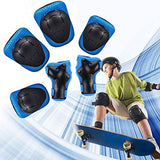 Kids Adjustable Helmet Sports Protective Gear Set Suitable for Ages 38 Years Toddler Boys Girls Knee Pads Elbow Pads Wrist Pads for Bike Bicycle Skateboard Scooter Rollerblading uos-B078TWTQFQ