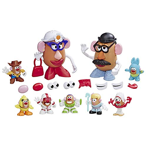 Mr Potato Head DisneyPixar Toy Story 4 Andys Playroom Potato Pack Toy for Kids Ages 2 Up rDw-B07FK7BG13
