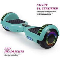 FLYINGANT Hoverboard Self Balancing Scooters 65 Flash TwoWheel Self Balancing Hoverboard with Bluetooth Speaker and LED Lights for Kids and Adults Gift wy4-B07MM232ZD