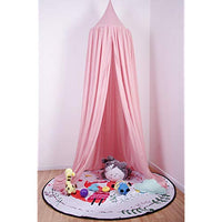 710 Bed Canopy for Kids Reading Play Tents 100 Fine Cotton Canopy Pink 3gP-B01N5PSBAY