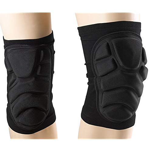 TTIO Knee Pads Breathable Soft Lightweight Knee Padded for Skiing Skating Snowboarding Unisex