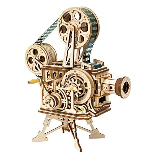 ROKR 3D PuzzleWooden Model Building SetsAdult Craft Brain Teaser Educational Engineering Toy Educational for Children Kids Teenage Adults Vitascope gGK-B07Q2T59KG