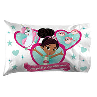 Jay Franco Nella Sparkle Knight Pillowcase Medium White jIG-B07FLZYV66